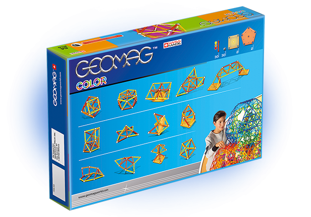 color 64 64 pieces of geomag color for your constructions - Geomag Color 64 Pieces