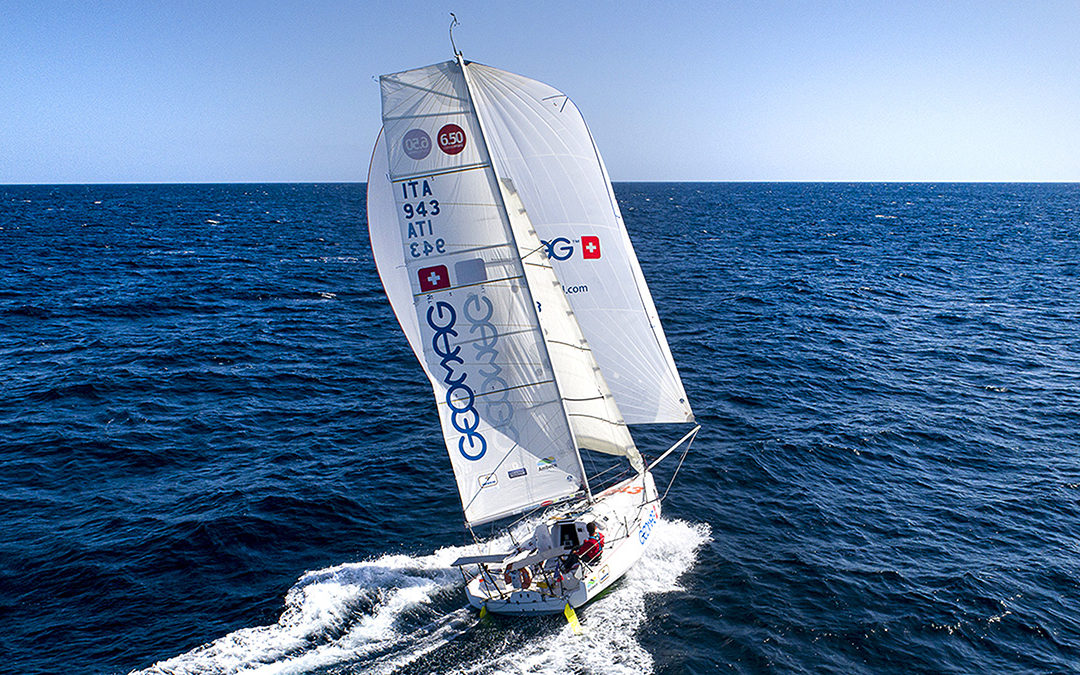 Ambrogio wins the Mini Transat