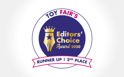 Geomag: on the podium at Toy Fair's Editors' Choice Awards in London!