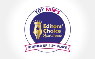 Geomag auf dem Siegerpodest der Editors' Choice Awards beim Londoner Toy Fair!